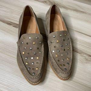 Mi.iM Suede Rivet Loafers